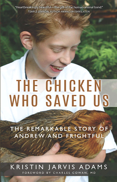 The Chicken Who Saved Us Book Cover